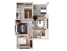 25 more 2 bedroom 3d floor plans 7 loversiq