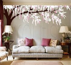 Cherry Blossom Tree Wall Decal For Nursery Tree Wall Decals Cherry Blossom Tree Decal Nursery Wall Sticker