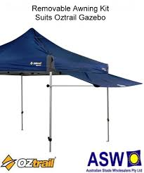 Oztrail Awning Removable Awning Kit 3m Oztrail Gazebo The Shade Centre