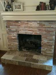 other design stunning image of outdoor dark brown brick fireplace