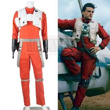 wars jumpsuit wars the awakens poe dameron costume x wing