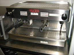 secondhand catering equipment 2 group espresso machines