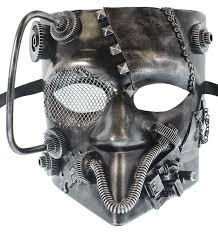 mens venetian mask buy redskytrader mens steunk robot bauta venetian mask in cheap