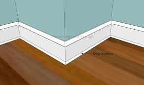 Laminate Floor Trim Molding How To Install Baseboard Trim Howtospecialist How To Build