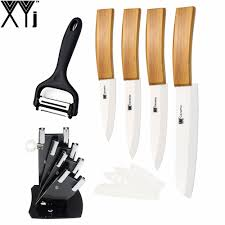 online shop best gift xyj brand ceramic knife 6 pcs set fruit