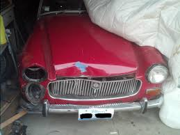 advice on repairing a crashed midget mg midget forum mg