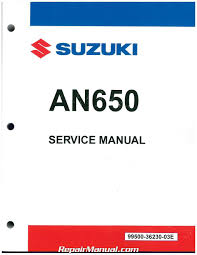 2013 u2013 2015 burgman 650 an650 suzuki scooter service manual