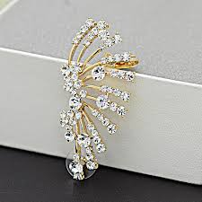 left side earring cuff connector picture more detailed picture about trendy gold