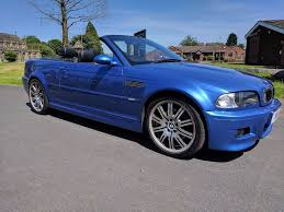 bmw m3 3 2 individual estoril blue smg convertible 2004 54 in