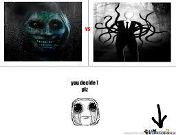 Unwanted House Guest Meme - slender man vs unwanted house guest by dhia1sahl meme center