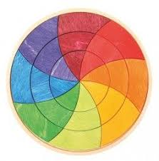 Cmyk Color Spectrum Puzzle Circle Puzzle Goethe Color Wheel I Love Color Pinterest
