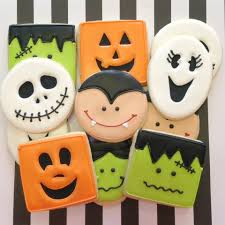 Decorated Halloween Sugar Cookies by Halloween Cookies Food Cookies Pinterest Sugar Cookies