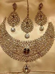 wedding earring necklace set images Wedding jewelry for bride 20 latest beutiful bridal jewellery jpg