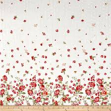 Home Decor Print Fabric Home Decor Floral Border Fabric Com