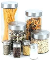 contemporary kitchen canisters kitchen containers enamel kitchen canisters and one
