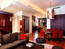 Red And Black Living Room by Endearing Red And Purple Living Room With Red And Purple Living
