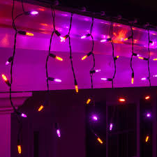blue and purple led christmasghts clearance white wire