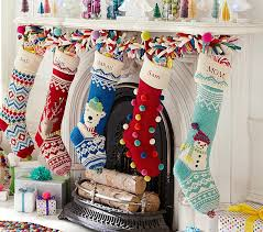 Pottery Barn Kits Merry U0026 Bright Stockings Pottery Barn Kids