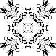 design clipart clipart flourishing floral design 12