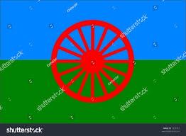 Flag Of Roma Roma People Flag Stock Vector 7323751 Shutterstock