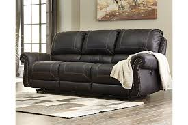 power reclining sofa set milhaven power reclining sofa ashley furniture homestore
