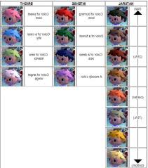 acnl hair color guide astonishing animal crossing pocket c pict for shoodle hair