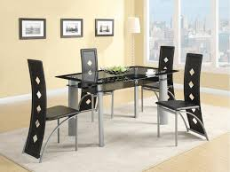 collection 121051 contemporary dining table set