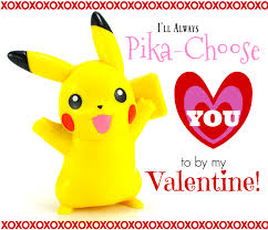 printable pikachu valentine u0027s day cards the adventures of j man