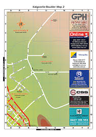 Boulder Zip Code Map by Kalgoorlie Gold Mines Western Australia Tourism Australia Where