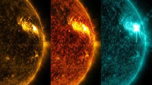 nasa viz an explosion on the sun