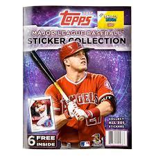 baseball photo album 2017 topps baseball mlb sticker collection album plus 6 free