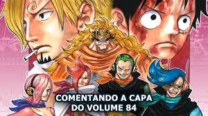 one vol 84 all blue news 13 comentando a capa do volume 84
