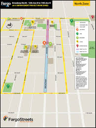 Map Of Fargo The City Of Fargo North Broadway Reconstruction 12th Ave To