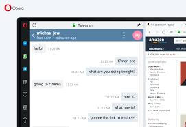 Telegram Web New Reborn Update With Telegram And Gpu Accelerated Opera