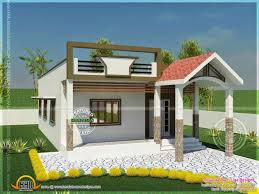 Contemporary Indian Single Floor Home Front Design House Plans U
