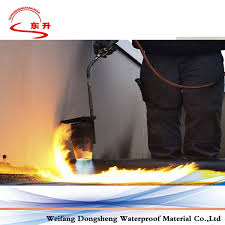 modified bituminous basement waterproof membrane and waterproofing