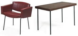 bureau guariche guariche petit bureau et fauteuil bureau plat en placage de