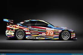 ausmotive com bmw art car by jeff koons to race at le mans 24 hour