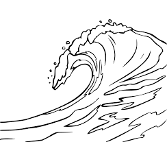 ocean waves coloring pages getcoloringpages com