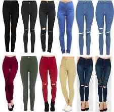 Plus Size Ripped Leggings Ripped Plus Size Leggings For Women Ebay