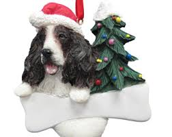 spaniel ornament etsy