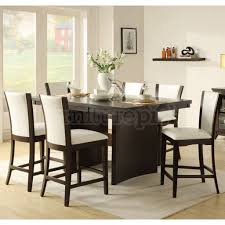 Standard Counter Height by High Dining Room Chairs Abaco Counter Height Dining Room Set