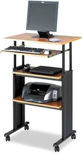 luxor stand up desk black standup 40 b luxor and products