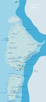 island on map maldives map with resorts airports and local islands 2017