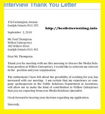 thank you letters business letter examples