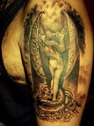 angel and demon tattoo eemagazine com