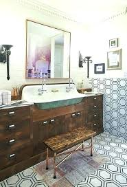 vintage bathrooms ideas vintage blue tile bathroom firegrid org