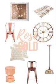 how to decorate with rose gold interiorsbykiki com