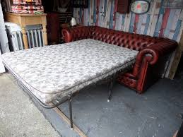 chesterfield sofa bed uk stunning chesterfield vintage sofa bed 4 seater sofa oxblood