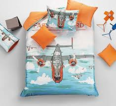 Airplane Bedding Sets by Amazon Com Yoyomall Kids 100 Cotton Aircraft Duvet Cover Set